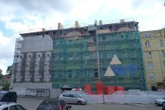 Lithuania Vilnius Complete Roof Reconstruction For Living Space lt 76